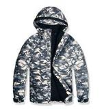 ( UN ANANAS ) 白彩 ジャンバー 超あったか 裏起毛 雪 冬 暖かい アウター メンズ ジャケット(M)
