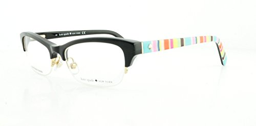 Kate Spade Eyeglasses Marika 0807 Black 49Mm