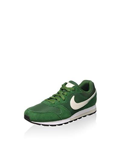 Nike Zapatillas Md Runner 2 Verde / Blanco EU 42 (US 8.5)