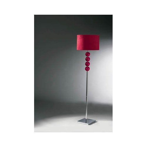 MISTRO FLOOR LAMP RED GLASS