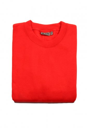 Mens Workforce Megaweight Sweatshirt In Red - Extra Large - Red
