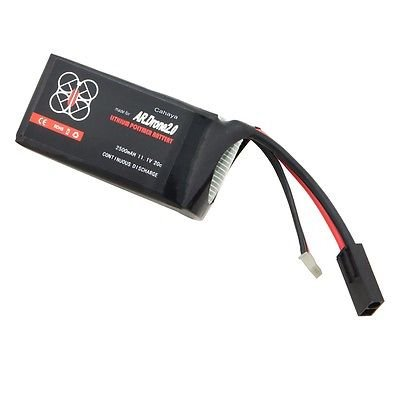 Looyuan 2500 Mah 20C Li-Po Upgrade Powerful Battery For Parrot Ar.Drone 2.0 Quadricopter