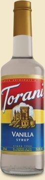 Torani Vanilla Syrup, 750 mL