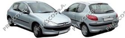 Fensterheber links, vorne Peugeot, 206 Schrägheck, 206+