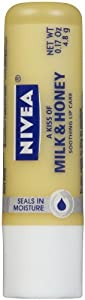 Nivea Lip Care A Kiss of Milk and Honey Soothing Lip Care, 6 Count