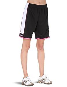 Spalding 4her Shorts Short basket-ball femme Noir/Blanc/Pink XL