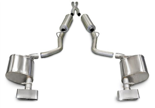 CORSA 14527 Dual Cat-Back Exhaust System for