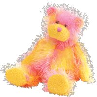 Ty Punkies Rainbow - Bear - 1