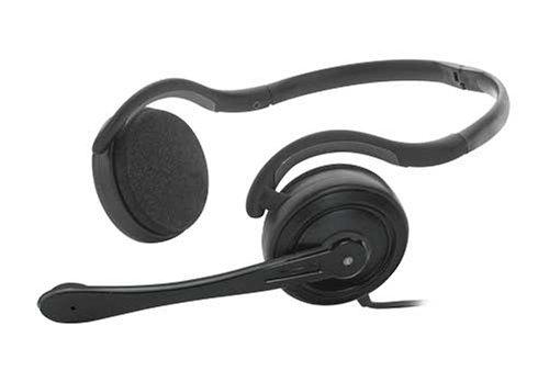 Trust HS-4075P USB Stereo-Headset mit Nackenbügel, verstellbarem Mikrofon und Lautstärke-Fernbedienung am Kabel