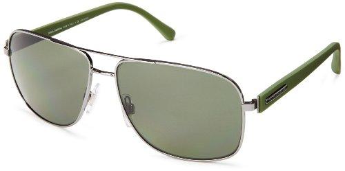 D&G Dolce & Gabbana 0Dg2122 Polarized Square Sunglasses,Gunmetal,59 Mm