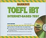 img - for Barron's TOEFL iBT Audio Compact Disc Package 13th (thirteenth) edition Text Only book / textbook / text book