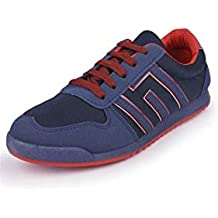 Action Shoes Action Sports Men Sports Shoes Kmp-725-Navy-Red