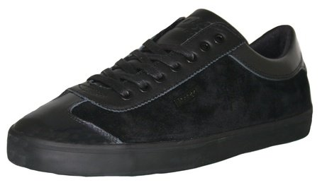 Mens Cruyff Santi Suede Trainers Black - 44