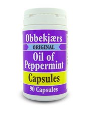 Obbekjaers Obbekjaers Oil Of Peppermint 90 Capsules
