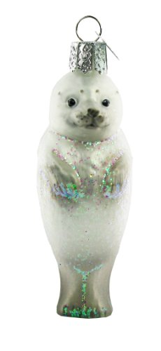 Old World Christmas Seal Pup Ornament