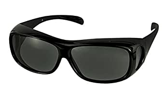 LensCovers Wear Over Sunglasses for Men and Women. Size