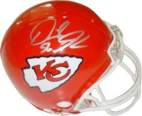 Signed Derrick Johnson Mini Helmet - Kansas City Chiefs Replica - Autographed NFL... by Sports Memorabilia