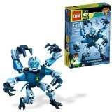 Lego Ben 10 Alien Force Series 8 Inch Tall Action Figure Set # 8409 - Spidermonkey With Glow In The Dark Eyes And Omnitrix Chest Symbol (total Pieces: 21) By Ben 10 Picture