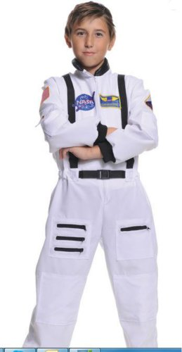 Astronaut White Child 4-6 Kids Boys Costume