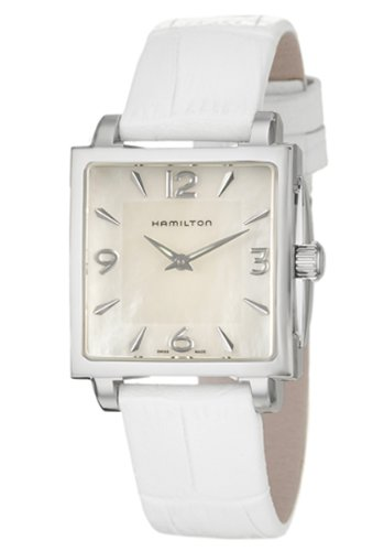 Hamilton Jazzmaster Square Women's Quartz Watch H32251955