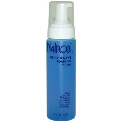 Nairobi Wrapp Shine Foaming Lotion Ounce