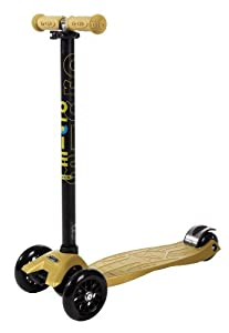Maxi Micro Scooter - Gold with T-bar by Micro