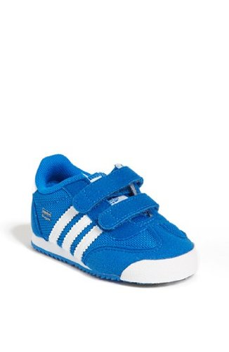 Adidas Dragon Cf I Blue Bird / Running White Infant / Toddlers / Baby Shoes G95081 (Size: 7K) front-976861