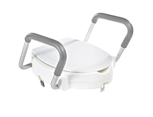 Ridder A0072001 WC-Sitzerhöhung mit Armlehne, weiß