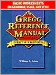 Gregg Reference Manual, Basic Worksheets: Grammar,