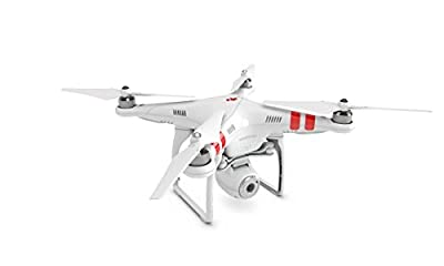 DJI Phantom 2 Vision PlusQuadcopter with Integrated FPV Camcorder (White) from Acase