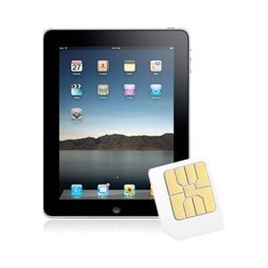 3 Original Broadband Ready to Go 3GB Preloaded Data Sim for iPad / iPad 2