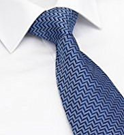 Sartorial Made in England Pure Silk Herringbone Tie