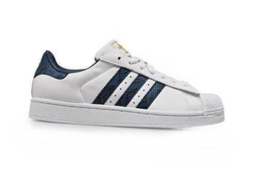 Adidas Originals Superstar Ii Mens formatori delle scarpe da tennis (UK 11.5 Us 12 Eu 46 2/3, Ftwwht