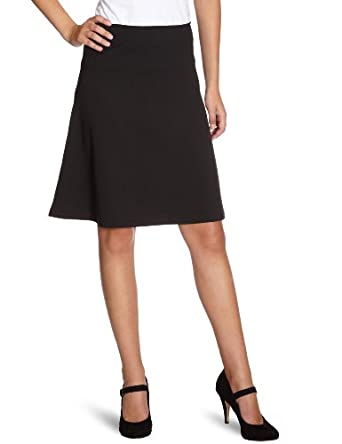 vero moda damen rock knielang 10083337 kady midi skirt gr 36 s schwarz black amazon. Black Bedroom Furniture Sets. Home Design Ideas