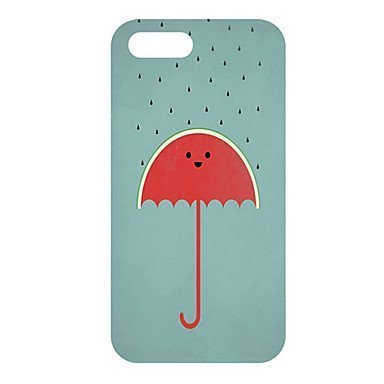 Cartoon Umbrella Phone Case [Customizable by Buyers] [Create Your Own Phone Case] Slim Fitted Hard Protector Cover for iPhone 4 4s