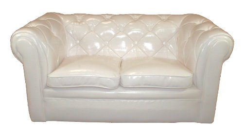 Little Chester S PVC Sofa (White)