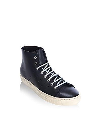 DEL RE Hightop Sneaker schwarz