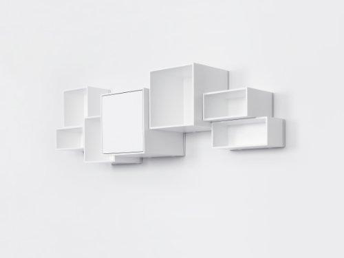 Design-Regal-Wandregal-Wei-lackiert