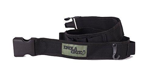 [Enola Gaye HANG TEN Belt / Bandolier - Grenade Carrier (Black)] (Bandolier Belt)