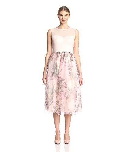 Ted Baker Women's Faunia Dress with Printed Skirt