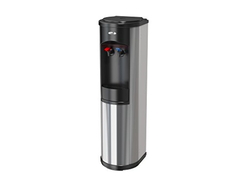 Oasis Artesian Bottleless Water Dispenser Hot & Cold w/ Multi-Stage Filtration or Reverse Osmosis Filtration Complete Package Options (5 Stage EZ Change R/O, Stainless Steel) (Water Cooler In Line compare prices)