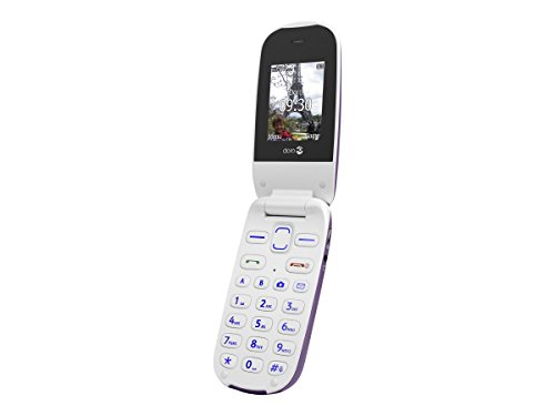 Doro-Phoneeasy-607-Tlphone-Mobile-Clapet-Actif-Aubergine