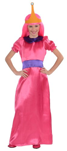 Adventure Time Child'S Bubblegum Princess Costume, Small front-1032200