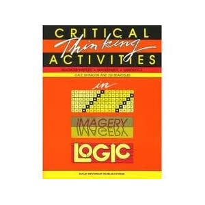 critical thinking activities in patterns imagery logic answers Explore anita vanderwal's board critical thinking activities on activities in patterns, imagery & logic critical thinking questions and answers.