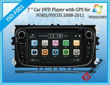 See Two Din 7 Inch Car DVD Player for Ford/mondeo/s-max/connect/focus 2 2008-2011 with 3g GPS Bt Ipod Tv Fm Free Map Details