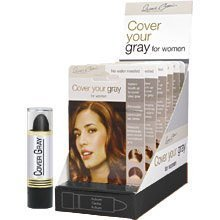 Cover Your Gray Hair Color Stick (Pack of 6) Jet Black