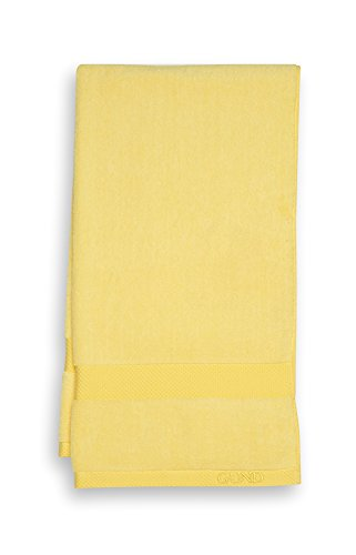 GUND Melange Bath Towel, Lemon, 24'' By 28''
