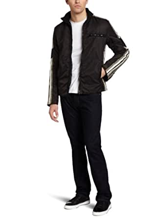 French Connection Men's Eagle Has Landed Coat, Black, Small