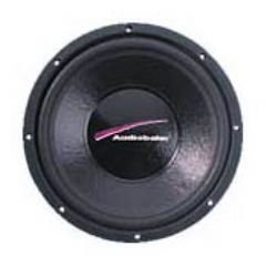 "Audiobahn AW1571T, 38cm (15"") Natural Sound Subwoofer, 500W RMS"