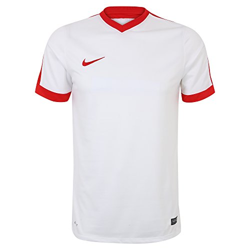Nike Sriker IV Jersey Men's Short Sleeve White/University Red (White/University Red , XL)